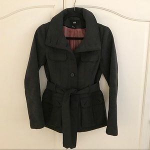 H & M Long Sleeved Outerwear Jacket